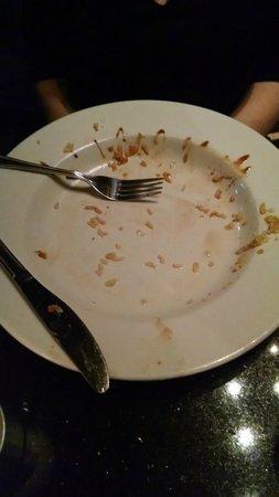 Big Fish Restaurant & Bar: She cleaned her plate