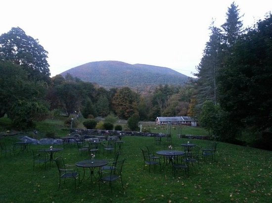 West Mountain Inn : View from the back - a lovely party/wedding venue.