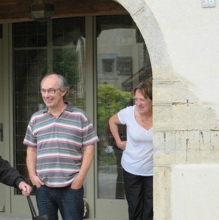 Le Relais des Abbesses : Our hosts