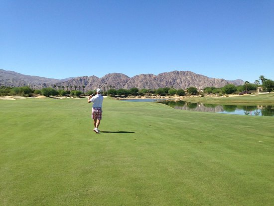 La Quinta-Norman Course : Stay on the nice green fairways!