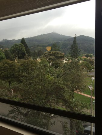 NH Collection Bogota Hacienda Royal: View from my room!