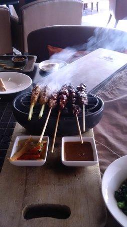 Anantara Seminyak Bali Resort: Private BBQ
