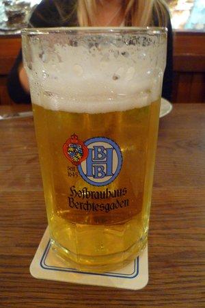 Bräustüberl Berchtesgaden: The beer