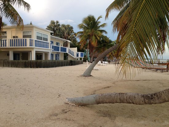 Seashell Beach Resort: View of rear from beach