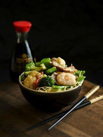 Mr. Wok: seafood dish