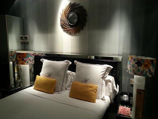 Hotel Abalu: Sängen var trevligt fast och skön.