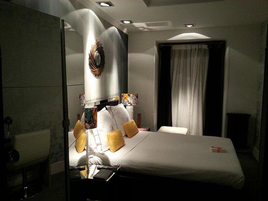 Hotel Abalu: Vy från hall/dusch