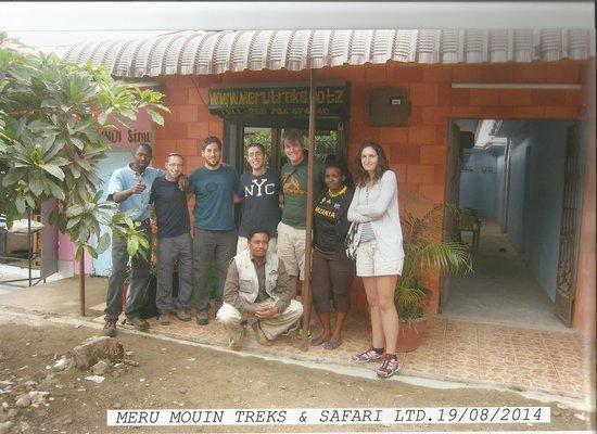 Meru Mountain Treks and Safaris Ltd - Day Tours: OUR NEW TOURISM OFFICE!