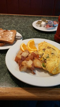 Fredericksburg Hospitality House and Conf Center: Veggie Omelet
