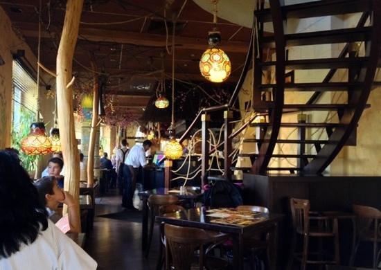 Inside Restauracja Ramzes