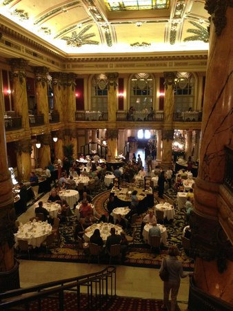 Sunday Champagne Brunch at the Jefferson Hotel: The Brunch