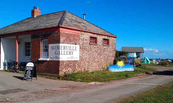 Millbrook, UK: Somerville Gallery by camp site entrance