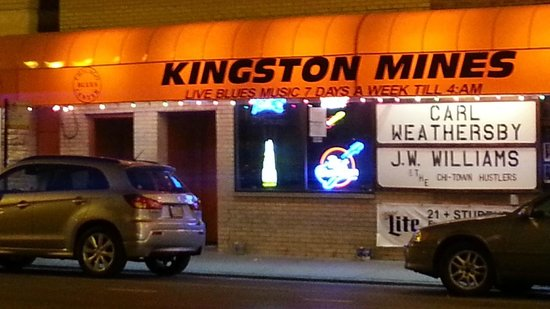 Kingston Mines: view outside