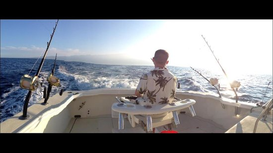 High Noon Sport Fishing: Enjoying the early morning excursion!!