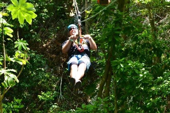 Rainforest Adventures Jamaica : too fun
