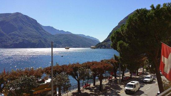 Hotel Walter au Lac: La splendida vista