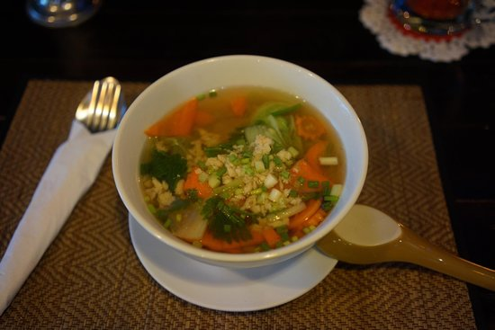 The Tavern: Glass noodle soup with chicken