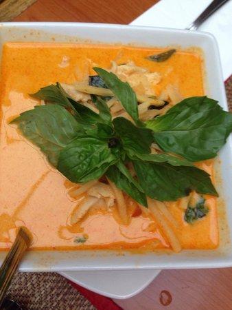 Sawasdee Thai Restaurant : Red curry