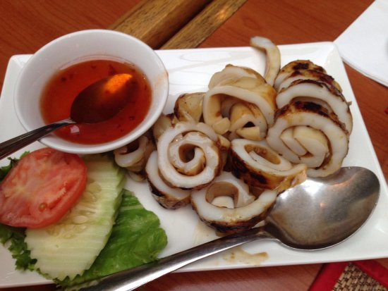Sawasdee Thai Restaurant : Bbq squid
