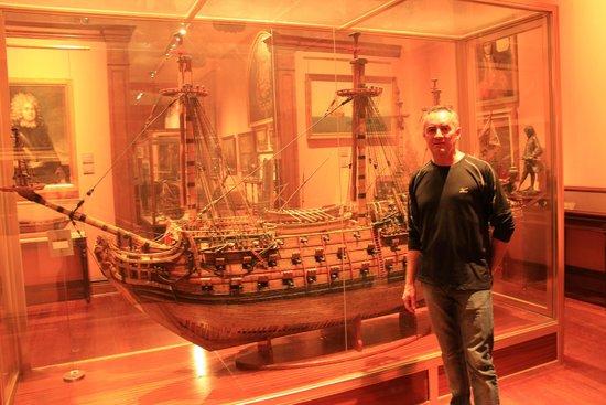 Naval Museum : MAQUETA DE NAVÍO