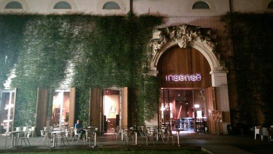 Restaurant L'insensé: Terrasse