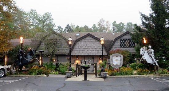 The English Inn, Fish Creek, WI, Entrance