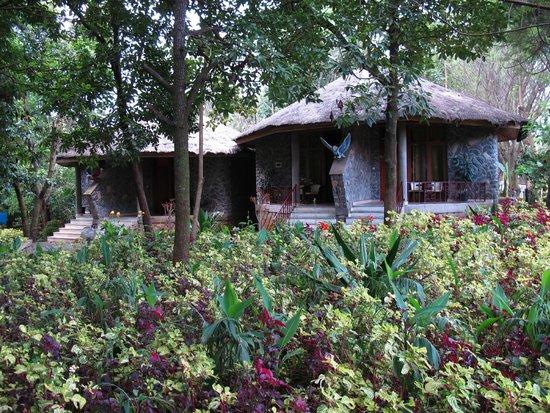 Abay Minch Lodge: Lodge area