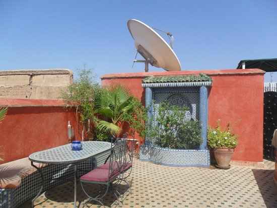 Riad Lapis-Lazuli: La terrasse du toit