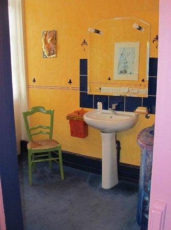 Le Soleil du Lion chambre d'hôtes : The Bathroom