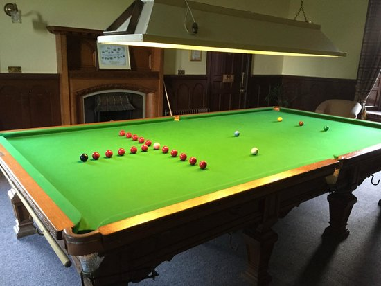 Friars Carse Country House Hotel: Snooker Room
