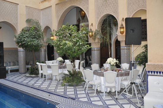 Riad Salam Fes : soirée de mariage