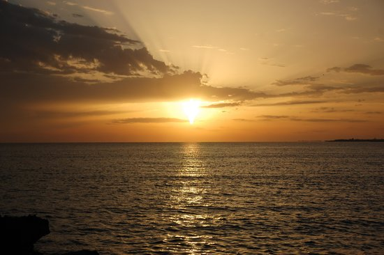 Hotel Alba: Splendido tramonto