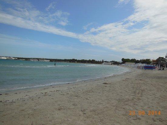 Hotel Alba: Meravigliosa spiaggetta