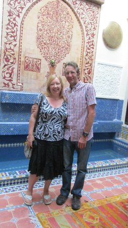 Riad 58 Blu: by the pool