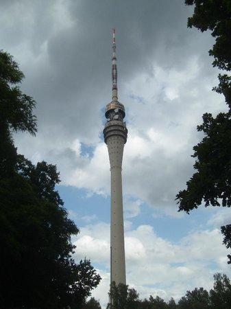 Standseilbahn Dresden: view - short walk from top station
