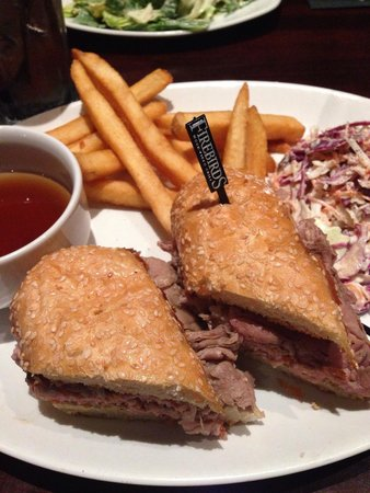 Firebirds Wood Fired Grill : Delightful French dip!!!