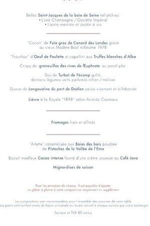 Restaurant de l'Hôtel de ville de Crissier : la perfection