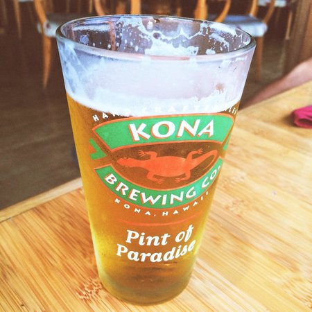 Keei Cafe: Local Kona Brew