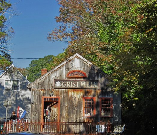 B.F. Clyde's Cider Mill: The Grist Mill gift shop.