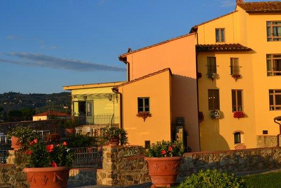 Hotel Mulino di Firenze : Back of the hotel