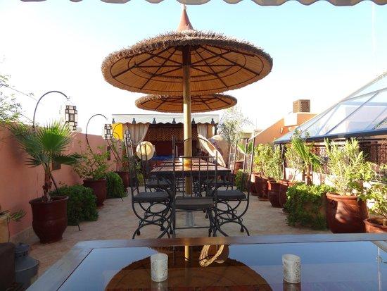 Riad Charme d'Orient: Dachterrasse