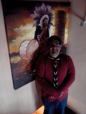 Totorani Inn: Pintura del lugar