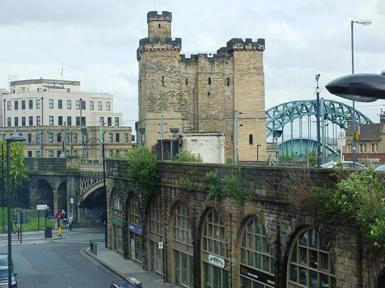 Sleeperz Hotel Newcastle: View from floor 2 'Superior' room.