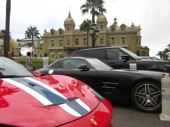 Trans Cote D'azur - The Coastal Ride: Motors outside Monte Carlo Casino