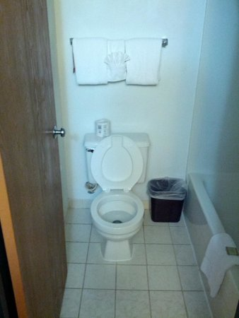 Super 8 Milwaukee Airport: Bathroom