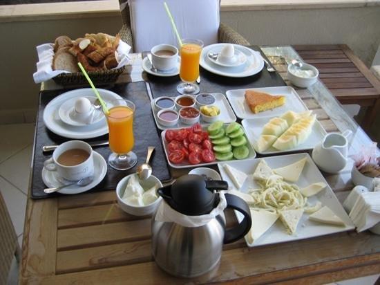 Sandima 37 Hotel Bodrum : Fantastic breakfast at Sandima 37