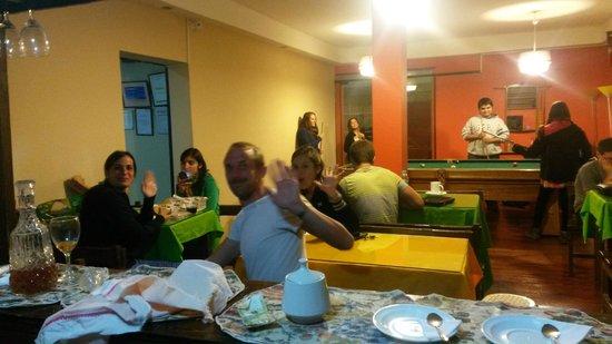 Inka's Rest: disfrutando de la comida