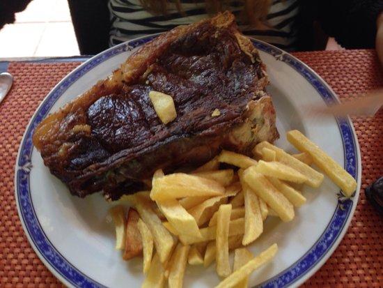 Restaurante O Castelo: Chuleton de buey