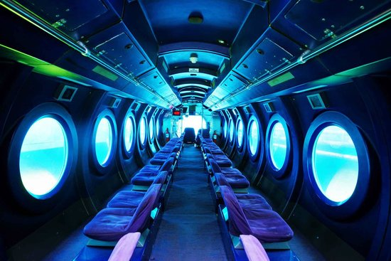 Inside of Largest Deep Diving Passenger Submarine - Picture of ...