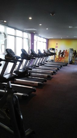 Platinum Yucatán Princess All Suites & Spa Resort: Gym Equipment
